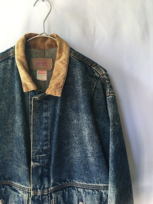 Levi's chemical wash denim jacket
