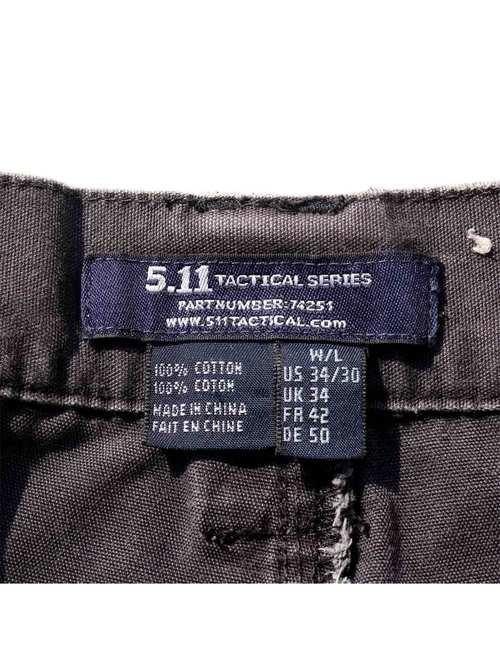 00's~ 5.11 TACTICAL サンフェード タクティカルパンツ [W34]