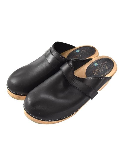 """ロッタ レザー クロッグ サンダル / """"Lotta"""" leather clog sandal"""