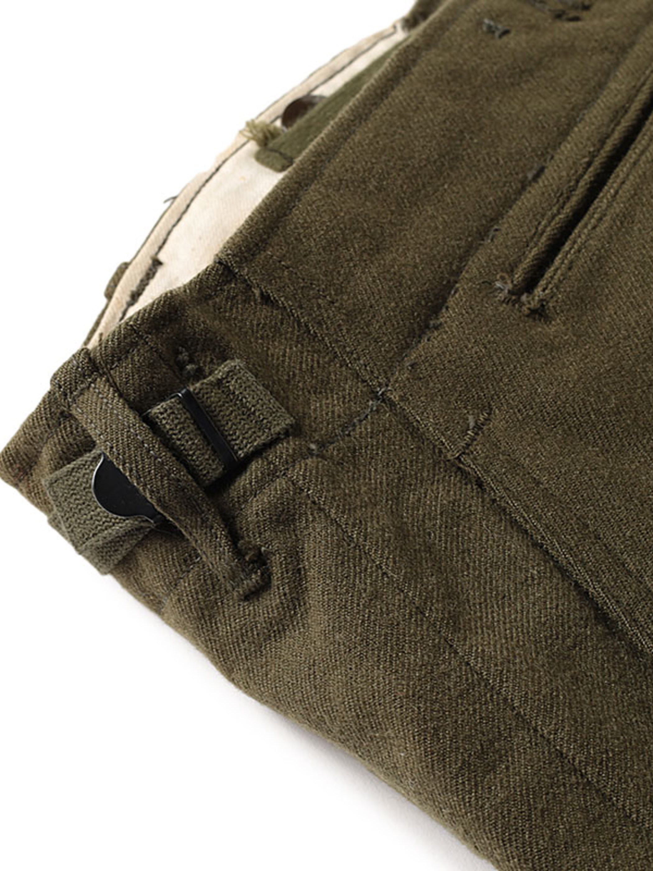 Used / US Army / 1940's - 1950's Wool Pants / 34inch