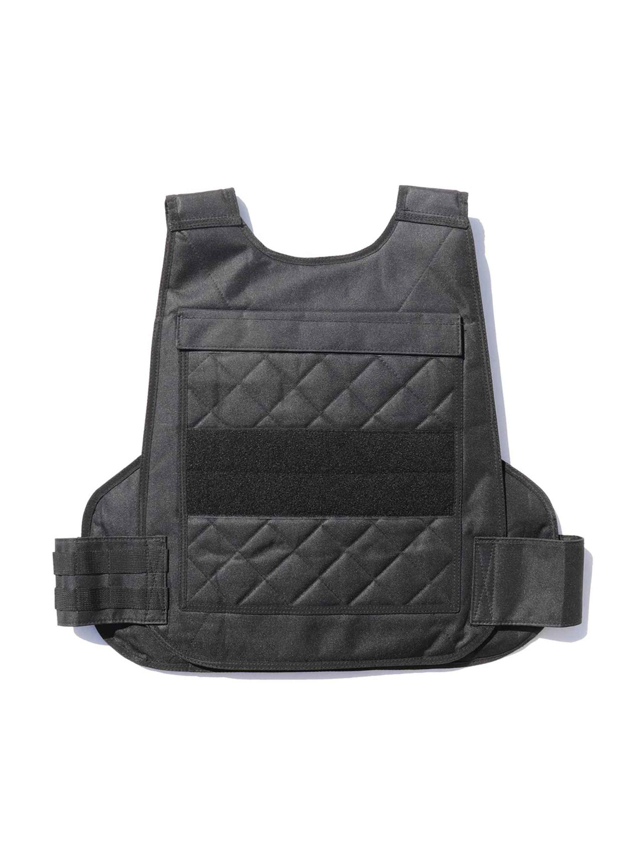 00's KENYA MISSION CONTROL Black Tactical Vest [FREE]