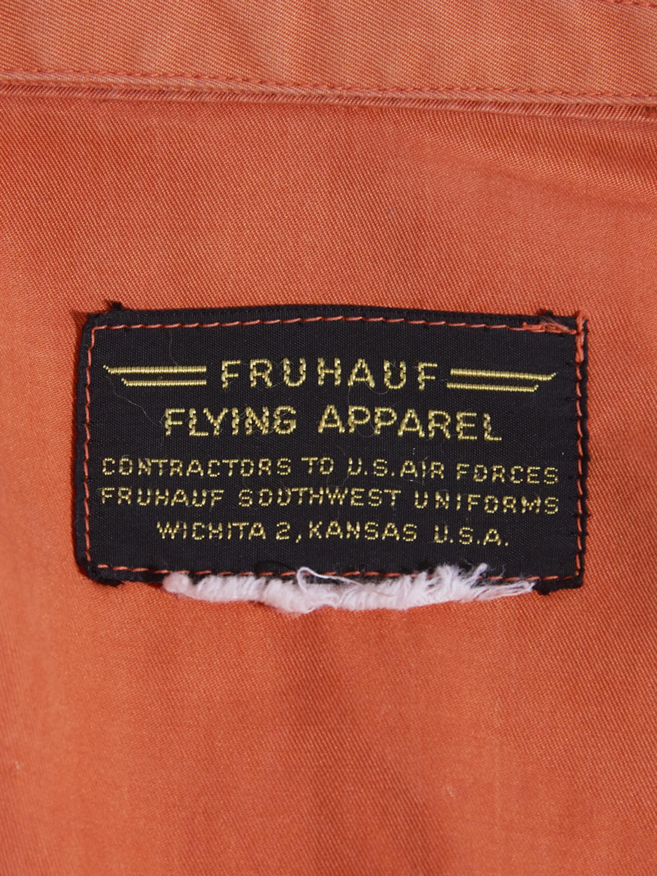 "1960s ""USAF"" K-2B flight suits -ORANGE-"