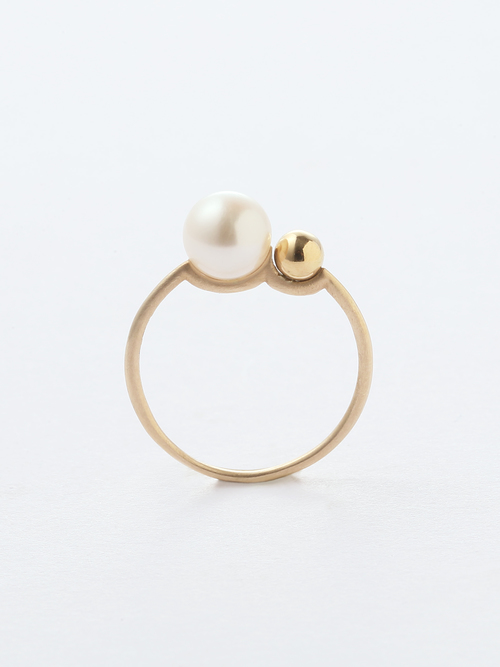 2 BUNNY TAIL RING