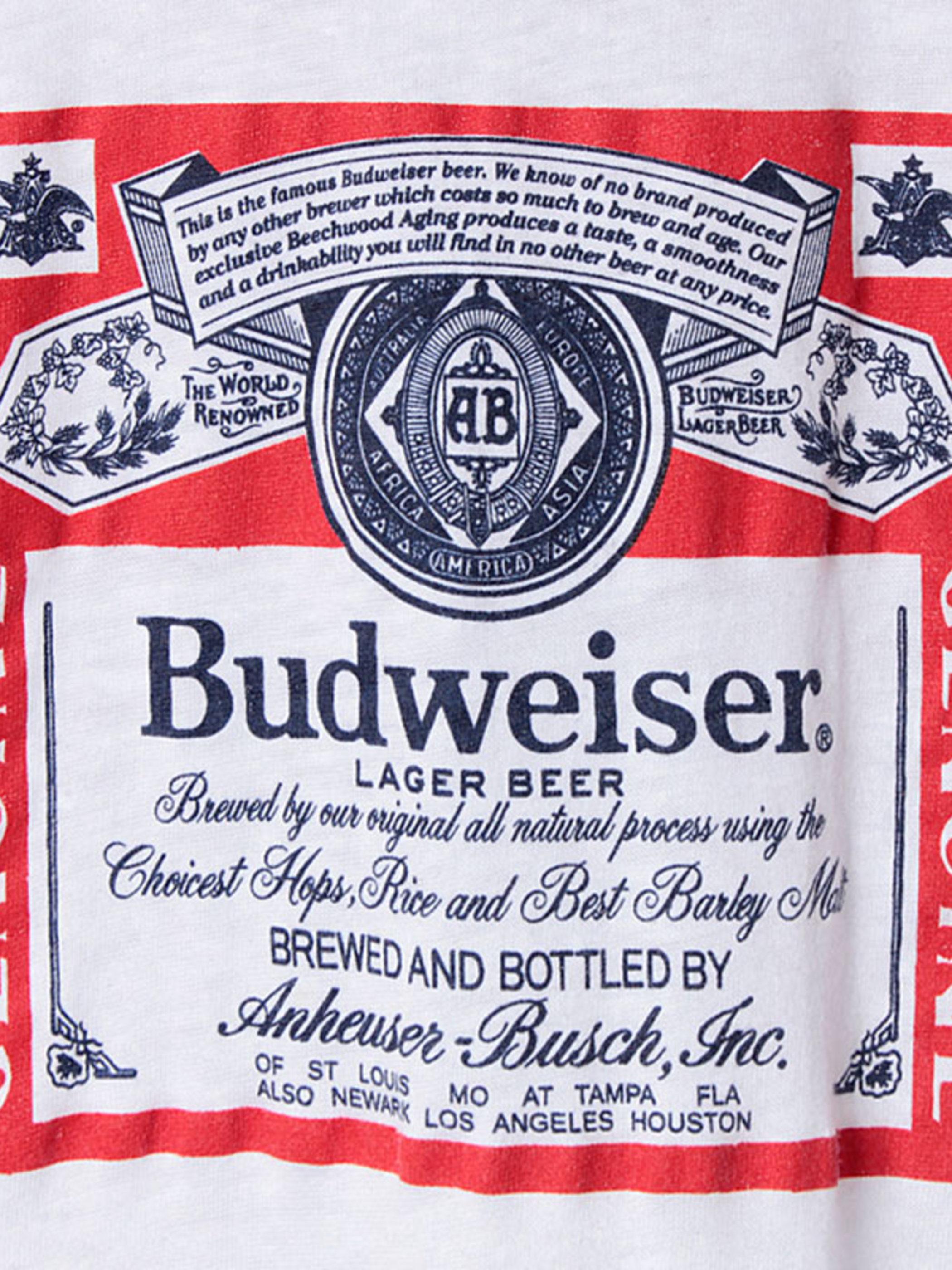 T-Swing Budweiser / Deadstock / Trim T-Shirt