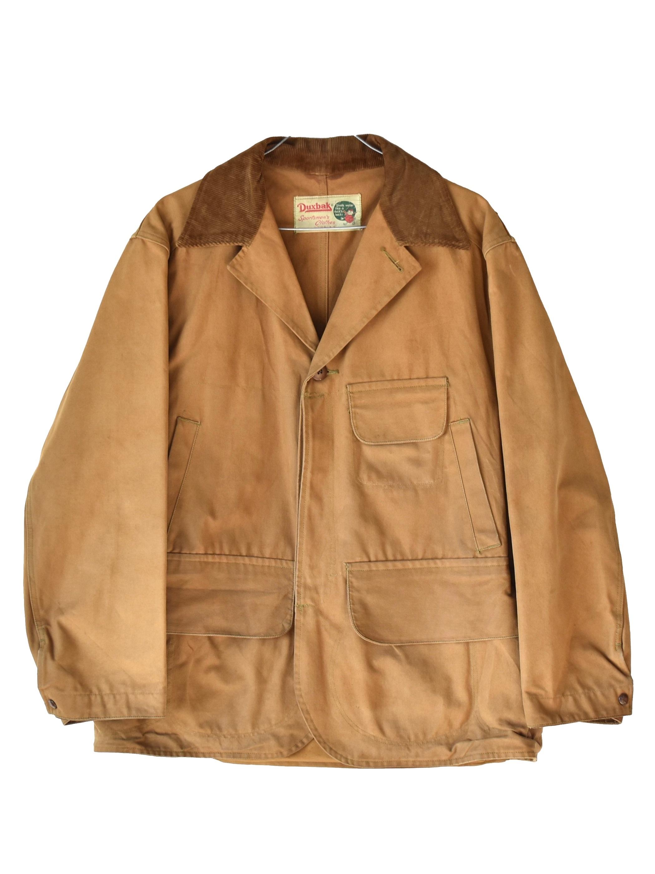 """50~60年代 ダックスバック ビンテージ ハンティング / """"Duxbak"""" 50~60's vintage hunting jacket"""