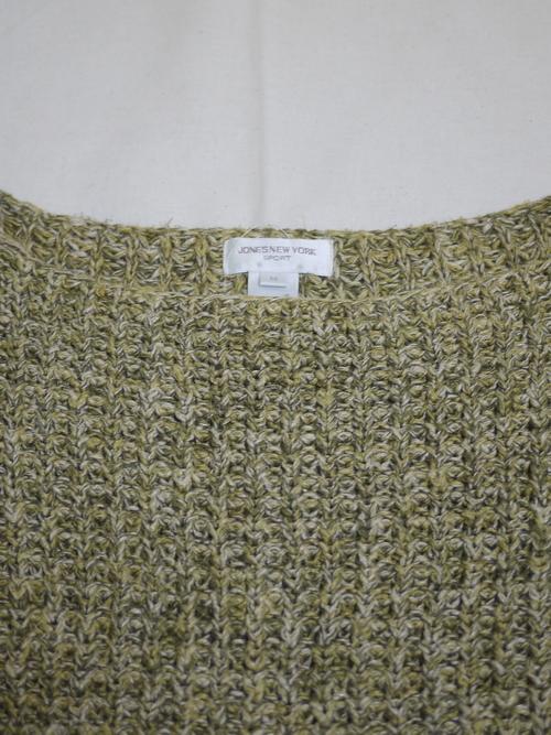 JONES NEW YORK Cotton knit SizeM