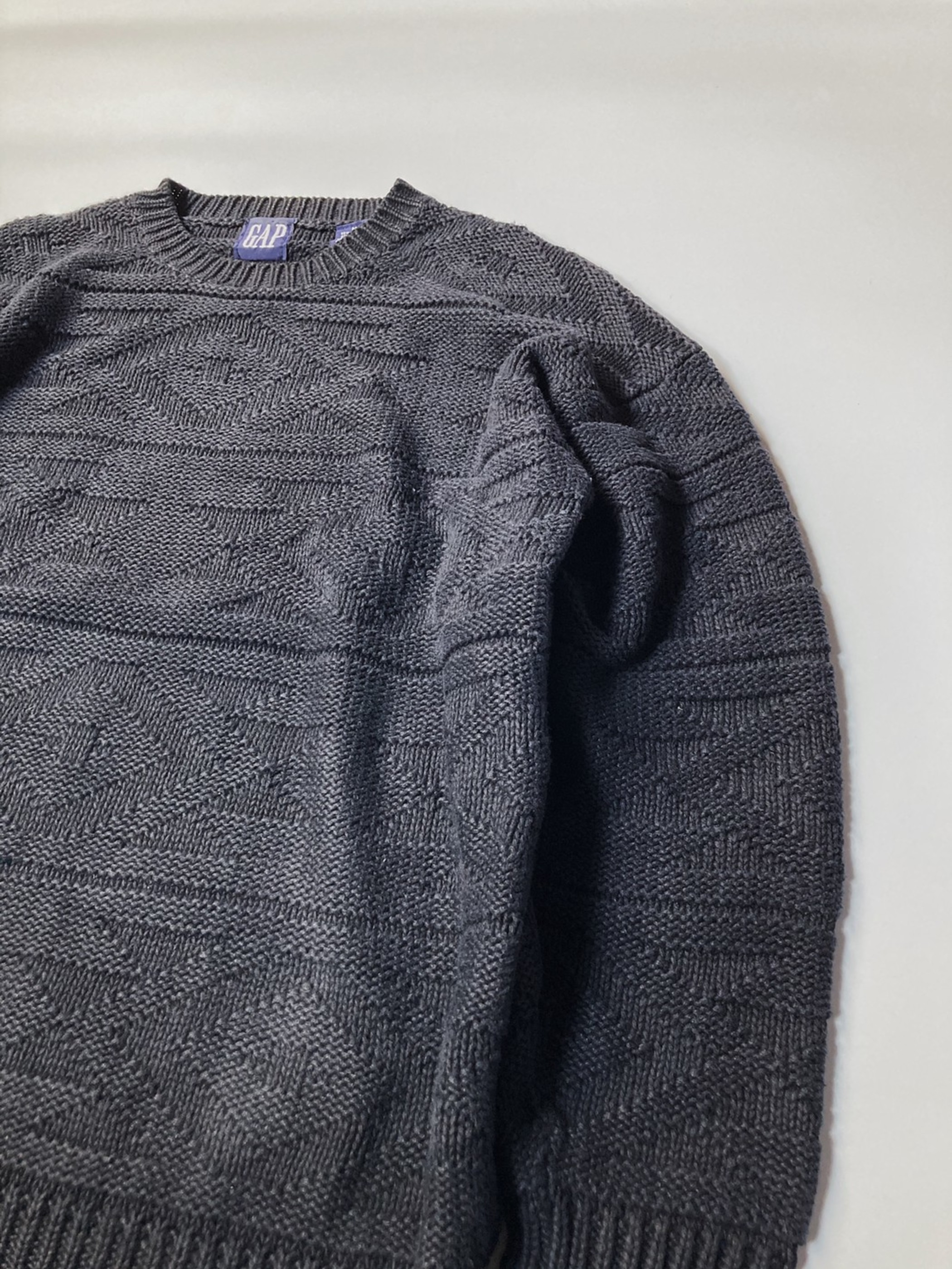 GAP ramie cotton knit 90s