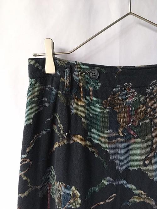 tapestry maxi skirt