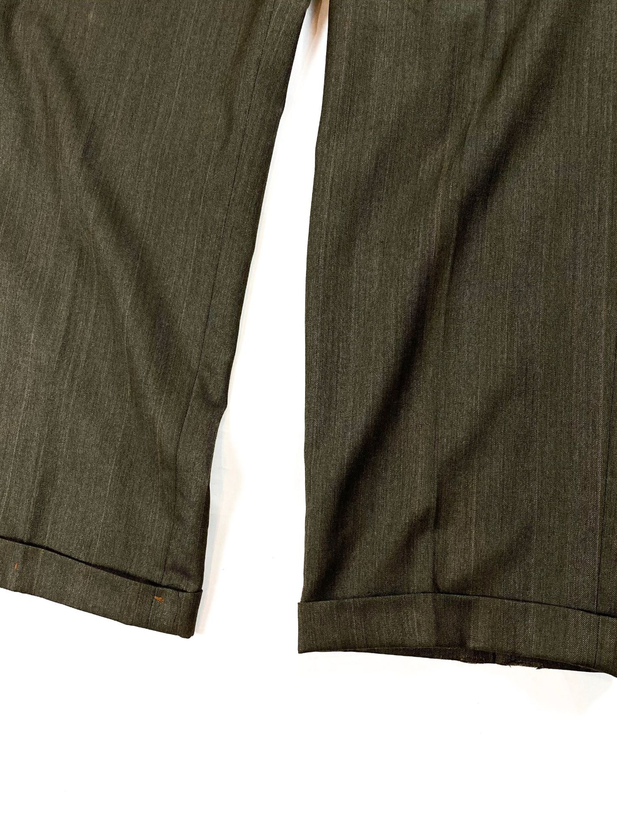 80's Burberrys H.B.T. stripe slacks