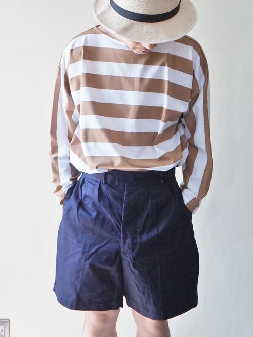 One Wash 1960s Military Royal Navy Tropical shorts
