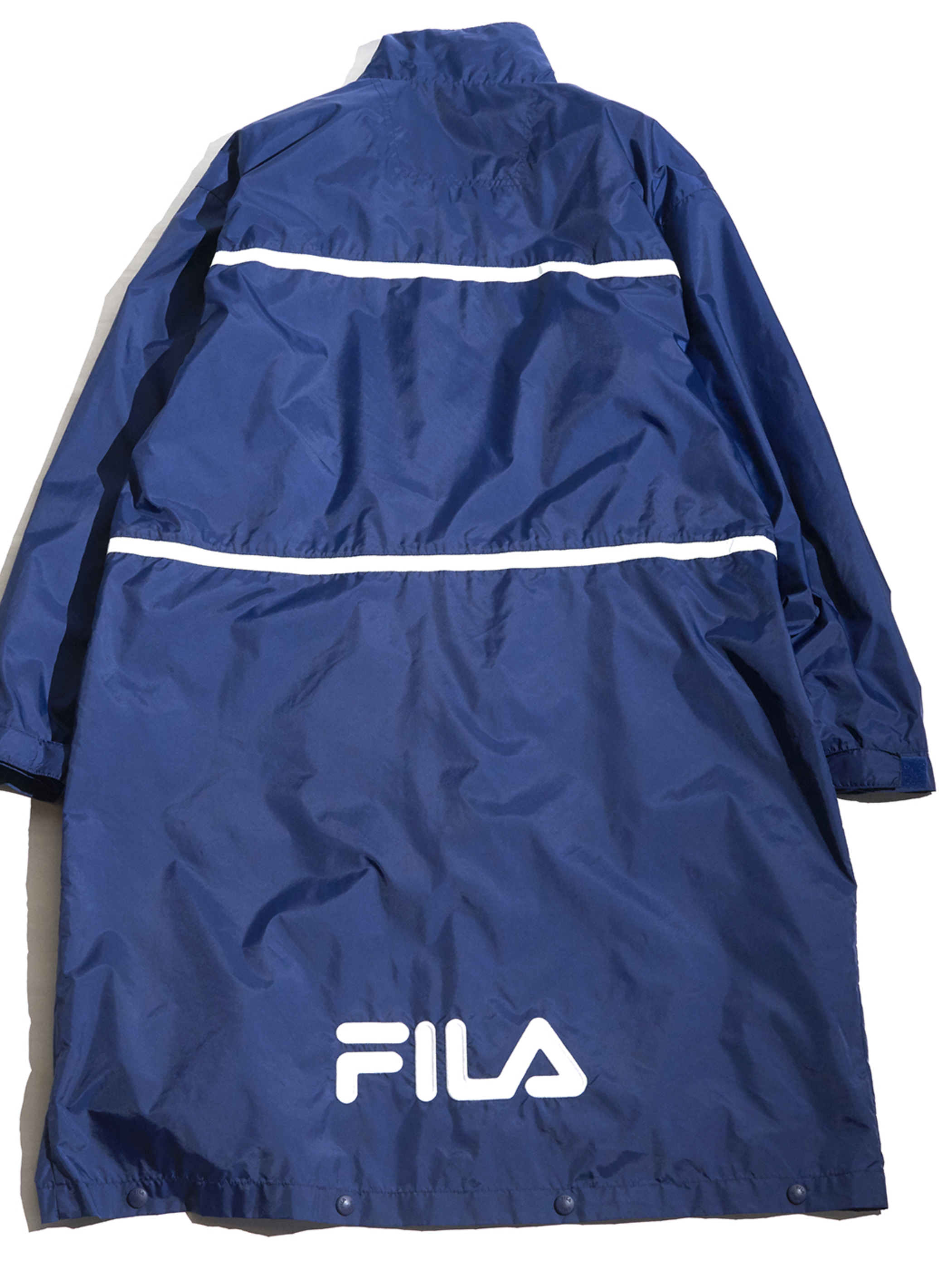 "1990s ""FILA"" 2way nylon warm up coat -NAVY- <SALE¥12000→¥9600>"