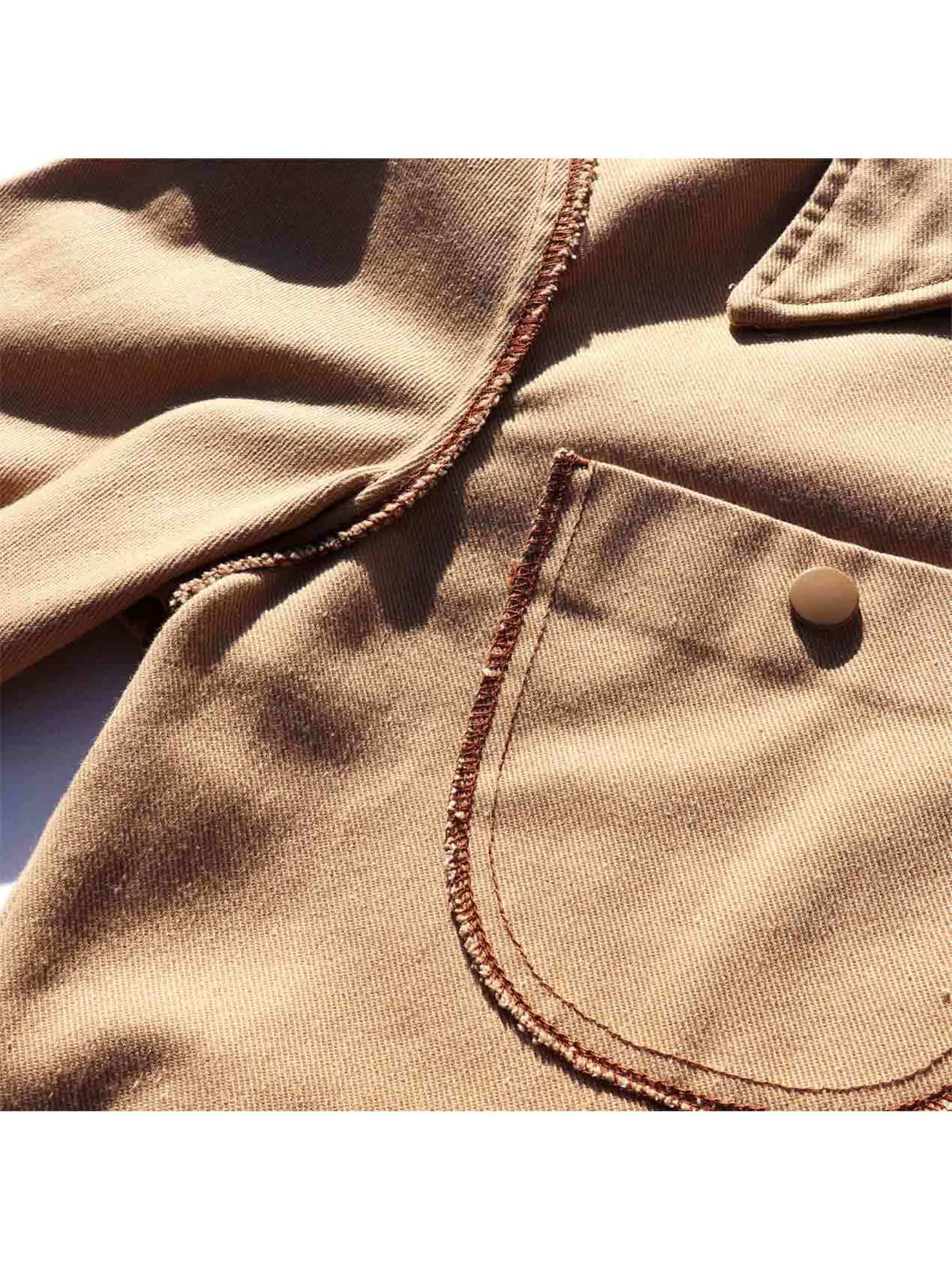 "70's MONTGOMERY WARD ""INSIDE OUT"" Cotton Twill Jacket [M]"