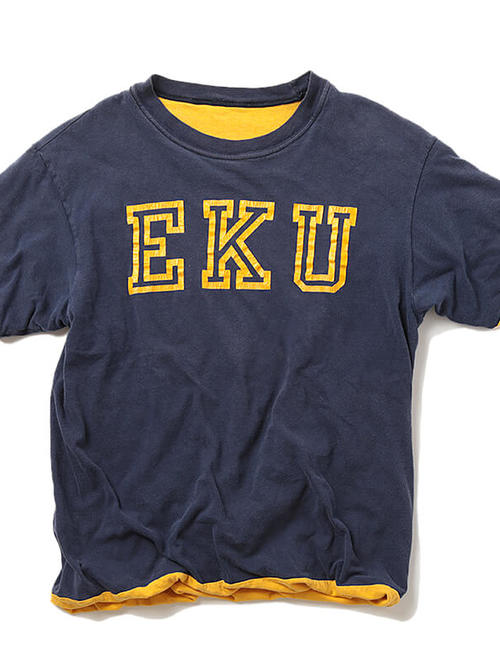 Used / 1970's Vintage / Eastern Kentucky University Reversible T-Shirt