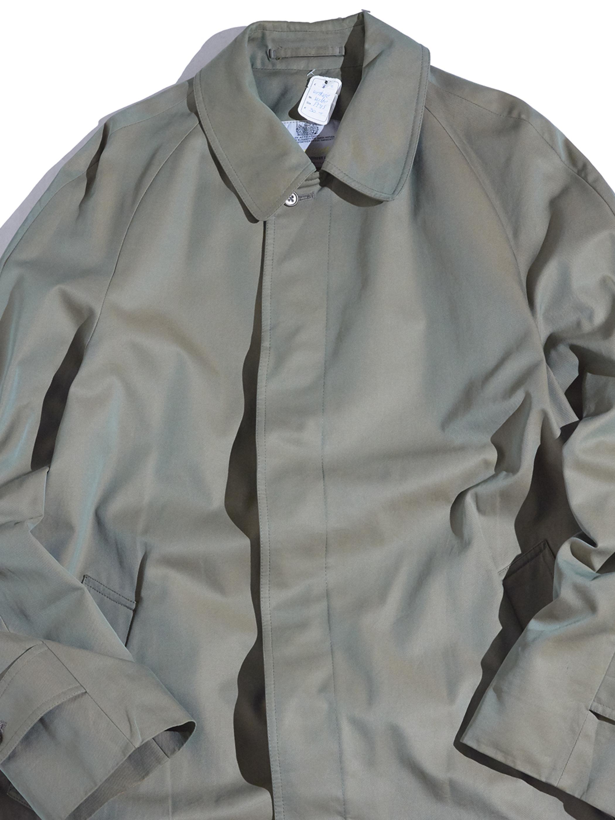 "1970s ""Aquascutum"" cotton bal collar coat -SUN CLOTH-"