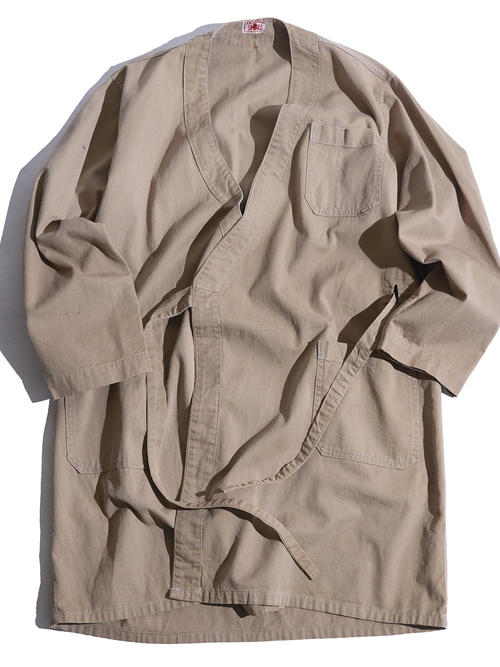 "1940s ""unknown"" haori work coat -BEIGE-"
