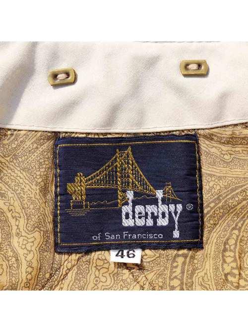 70's DERBY OF SAN FRANCISCO オフホワイト ダービージャケット [46]
