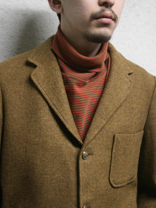 """1970s """"PENDLETON"""" wool tailored jacket -BROWN-"""