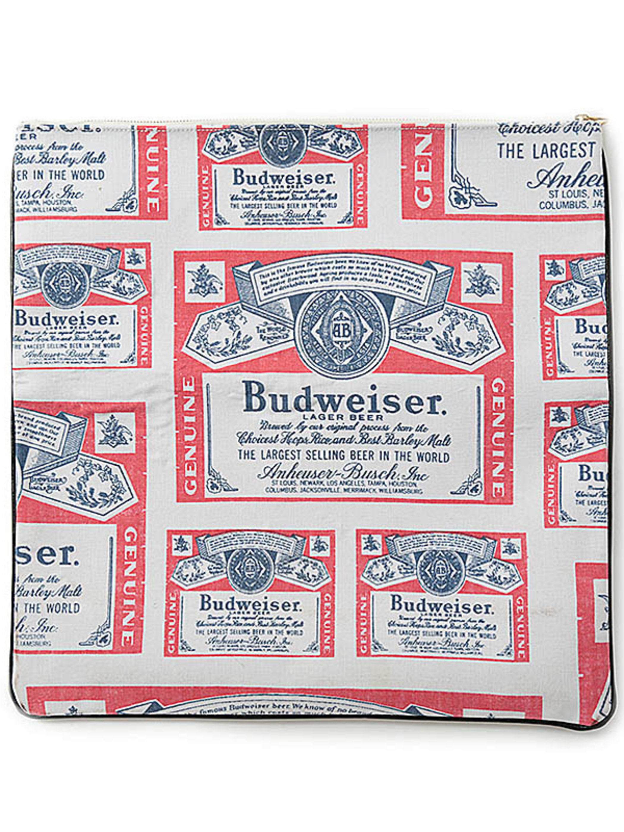 No.4 / Budweiser Clutch Bag