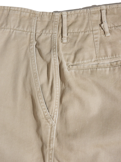 "1940s ""US ARMY"" M-45 chino trousers -KHAKI-"