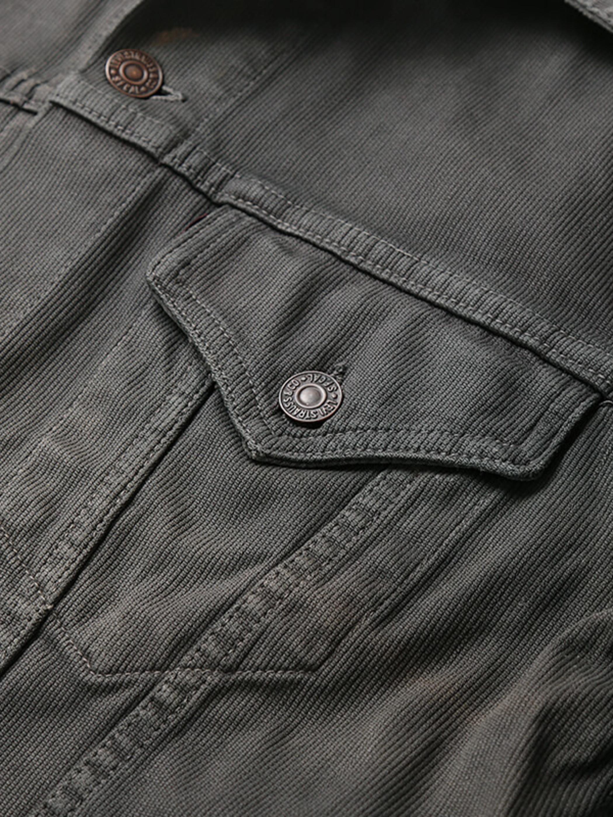 Used / Levi's / 1960's Vintage / 941B XX Cotton Pique Jacket / Over Dye Black