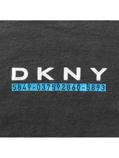 90's DKNY USA製 プリントTシャツ [S]