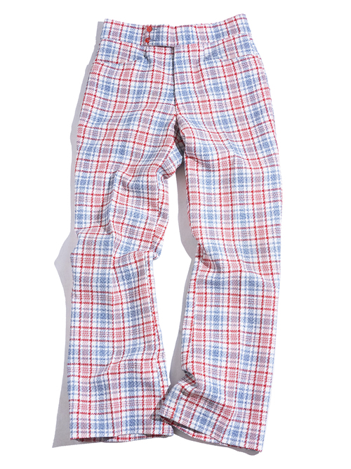 """1970s """"unknown"""" polyester flare slacks -CHECK-"""