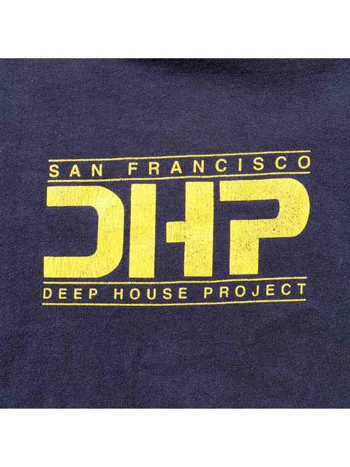 00's DEEP HOUSE PROJECT USA製 Tシャツ [XL]