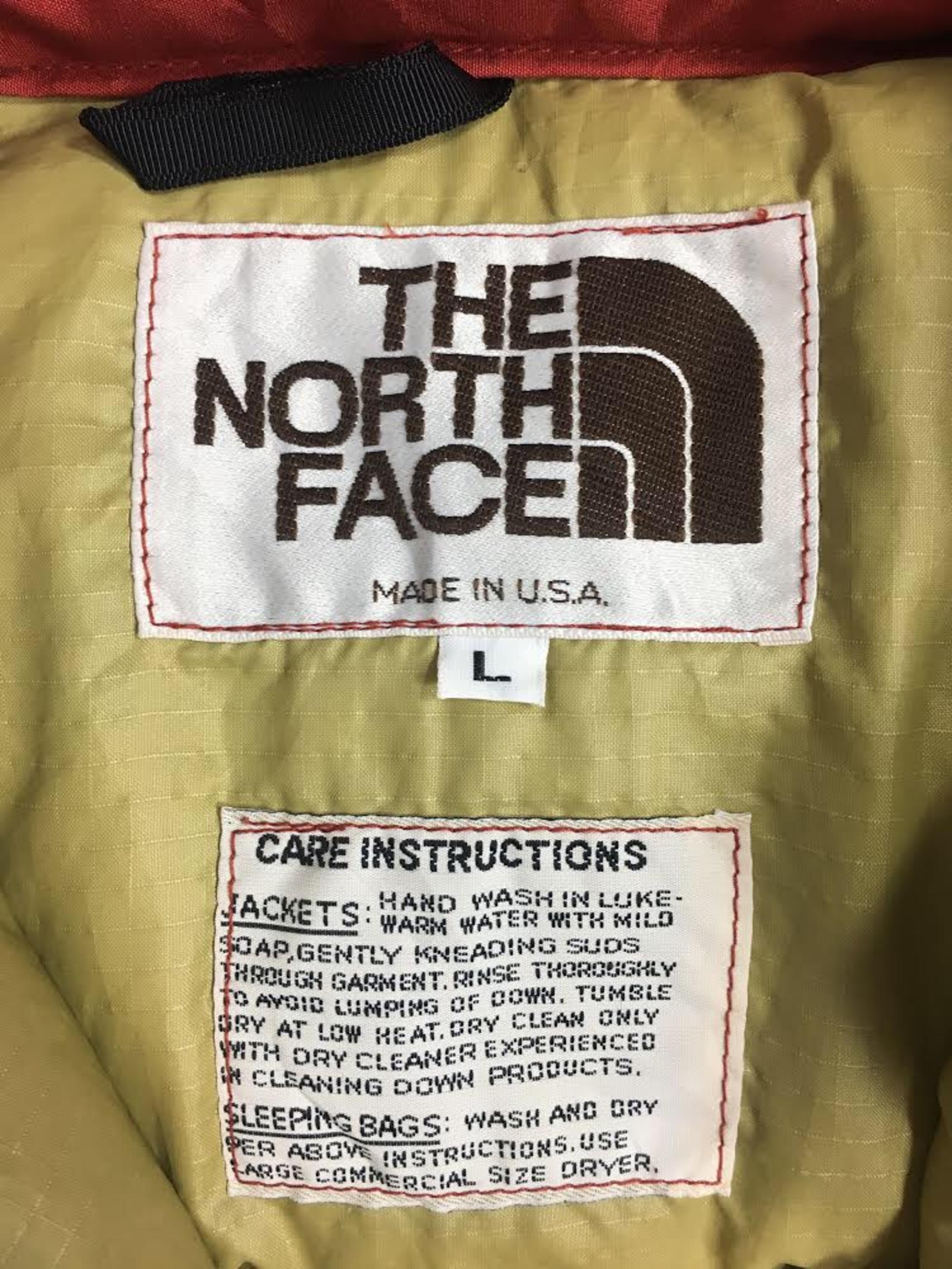 80's THE NORTH FACE Down Vest ノースフェイス 茶タグ ベスト[L]