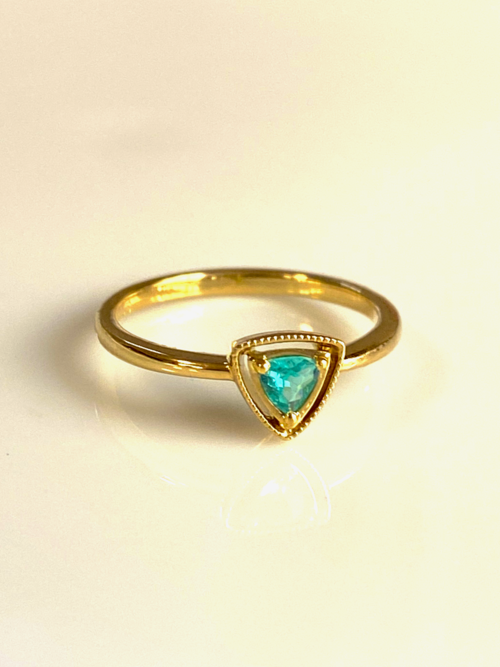 Cinderella Ring -trilliant cut-