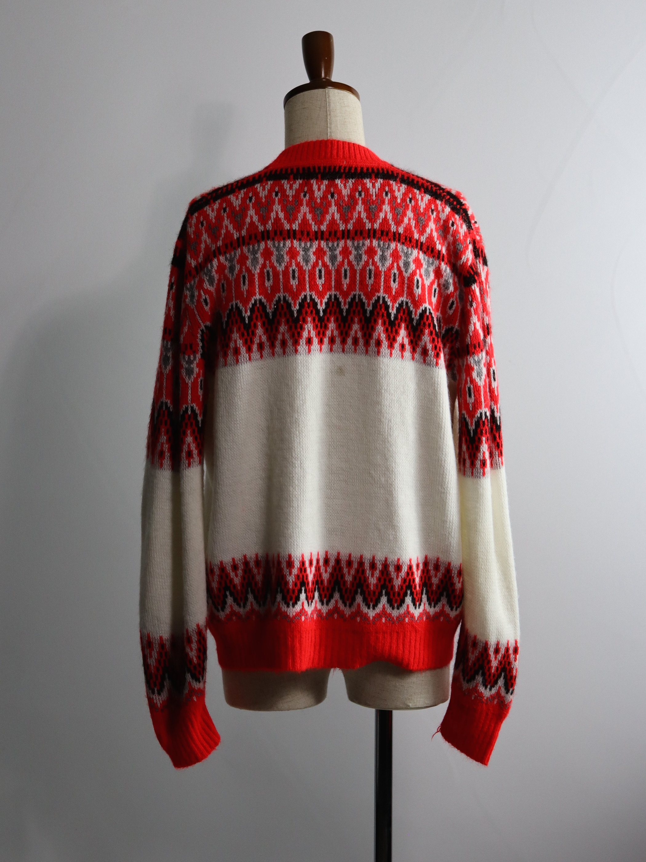 1960's Orlon by Campus Nordic Zip Knit