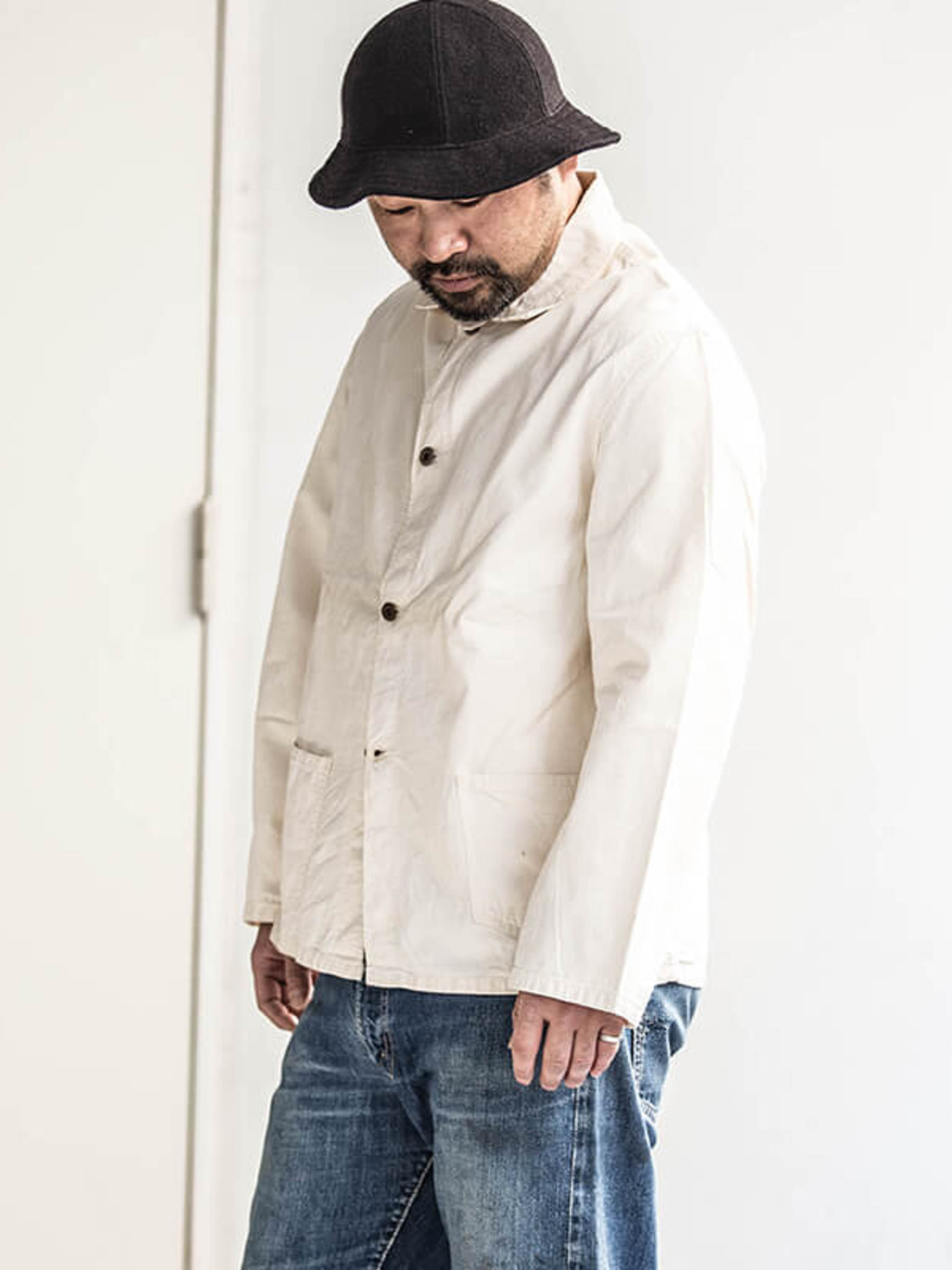 Used / 1960's Vintage / Cotton Coverall Jacket