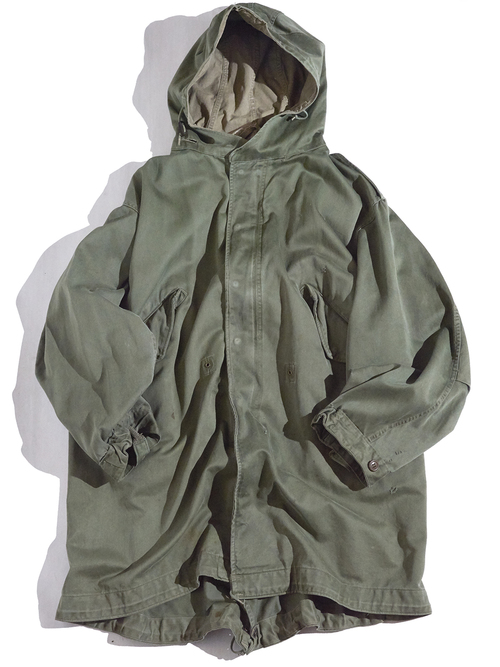 "1950s ""US ARMY"" M-51 fishtail parka -OLIVE-"