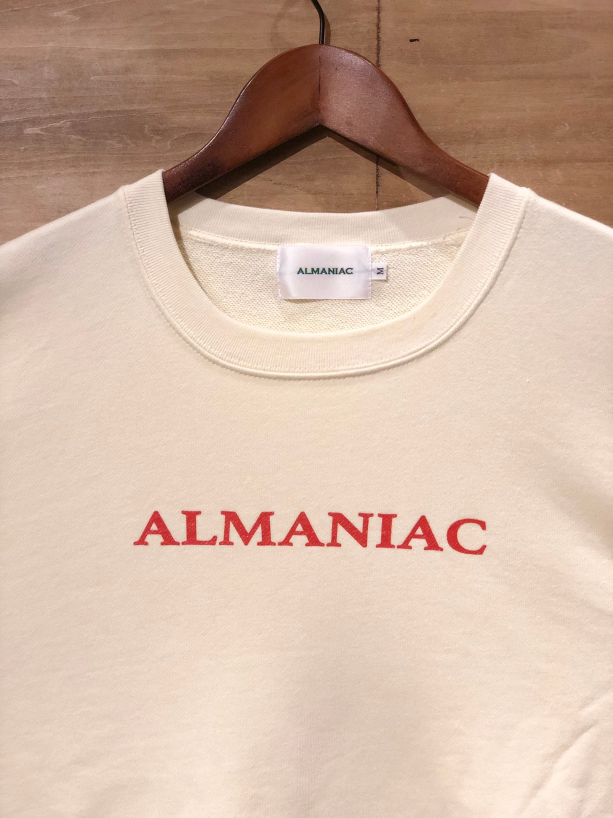 Sweat Shirt [M~XL] ALMANIAC / Logo