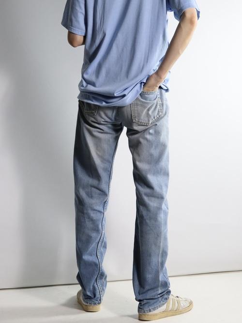1990's Levi's Europe 501 Denim Pants Dupont CoolMax / Made in Spain