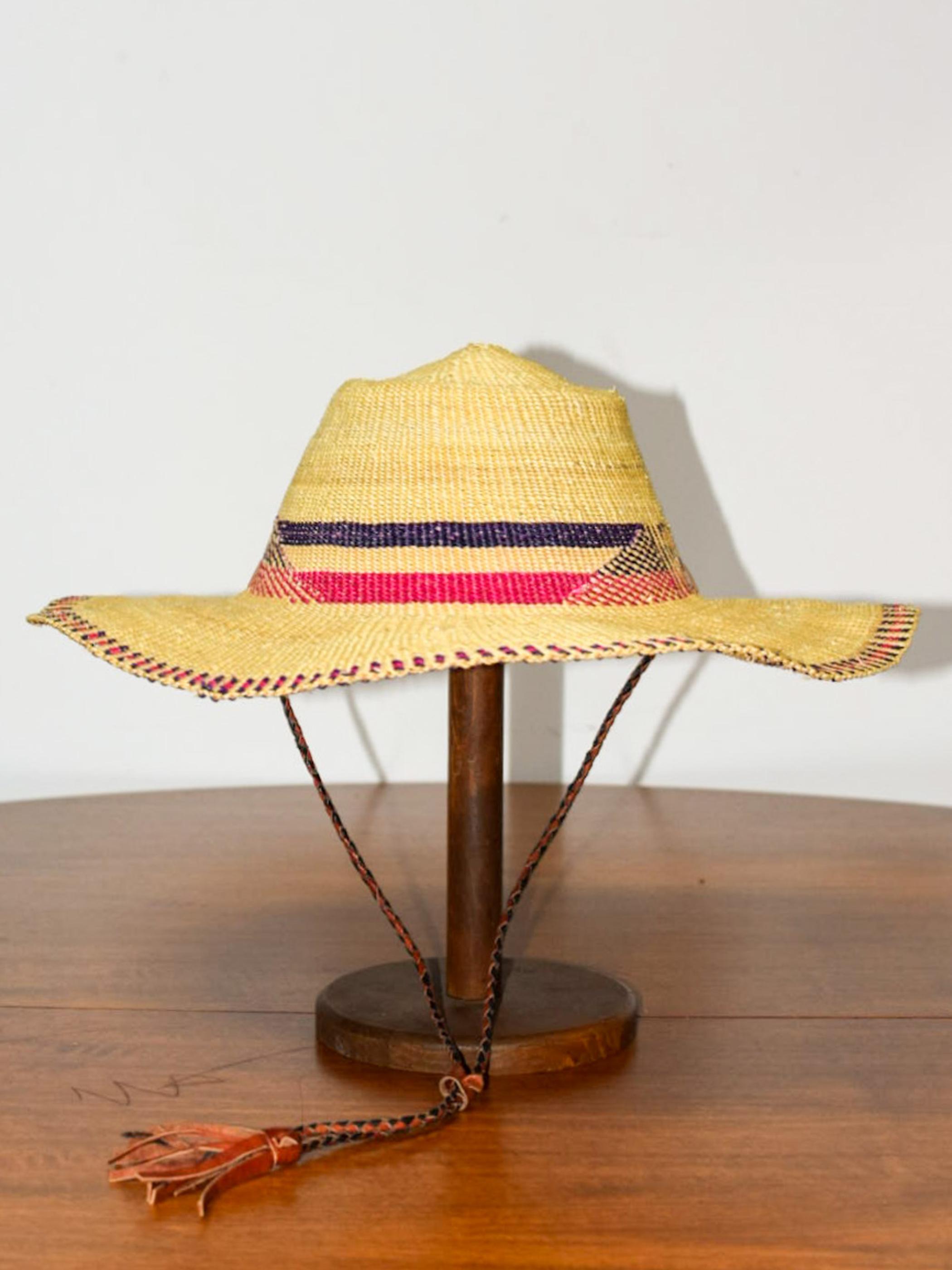 African straw hat / アフリカンストローハット