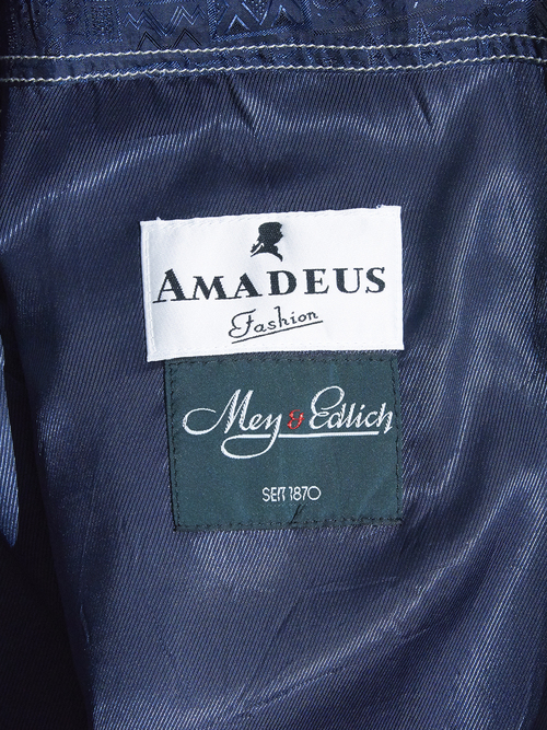 "2000s ""AMADEUS"" wool gabadine over coat -BEIGE-"