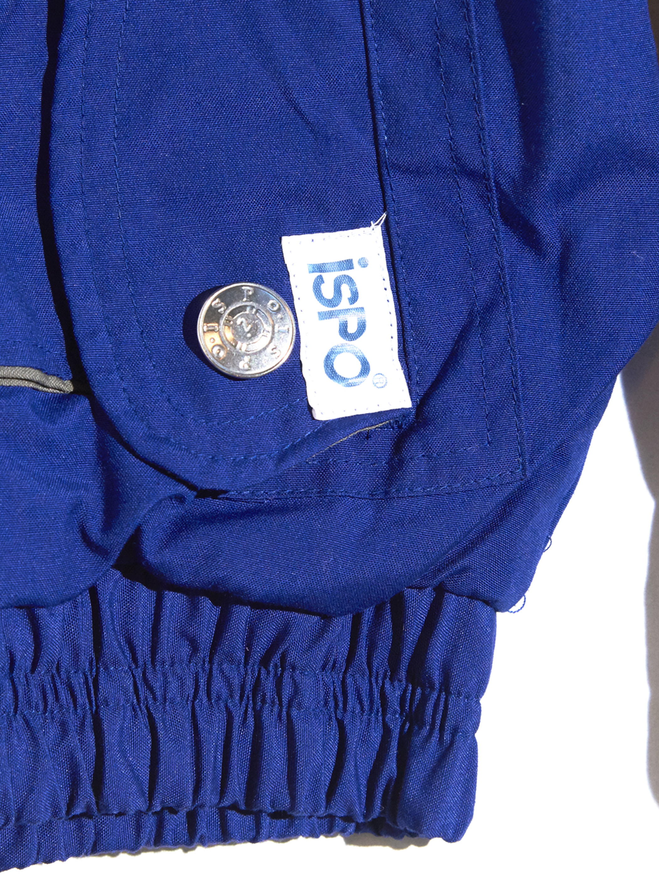 "1980s ""ISPO"" high neck blouson -BLUE-"