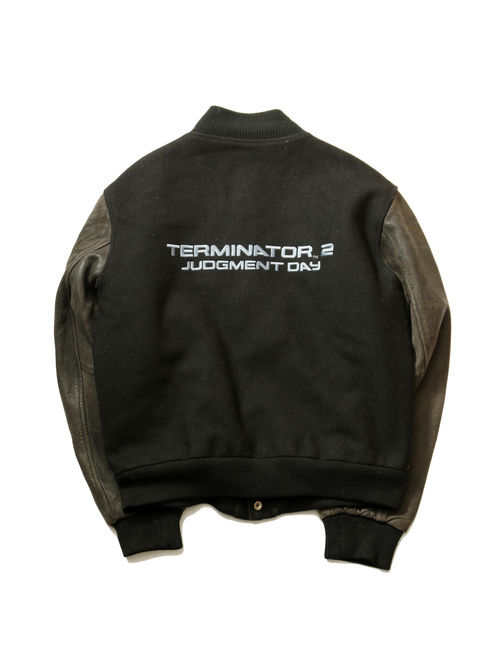 1990's Terminator2 / Judgement Day Original Movie Varsity Jacket