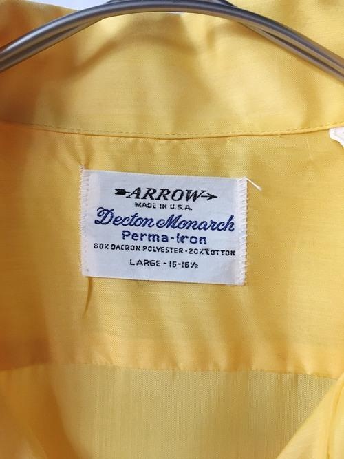 open collar polyester shirt 70s