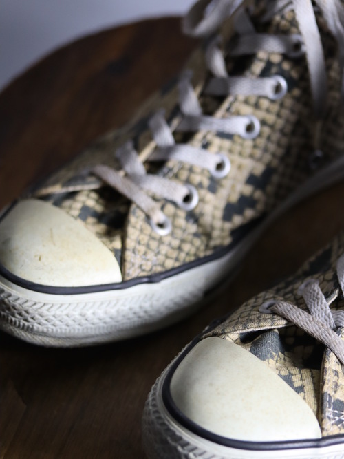 00's Converse ALL STAR Python Hi / Made in Japan / size 9 1/2