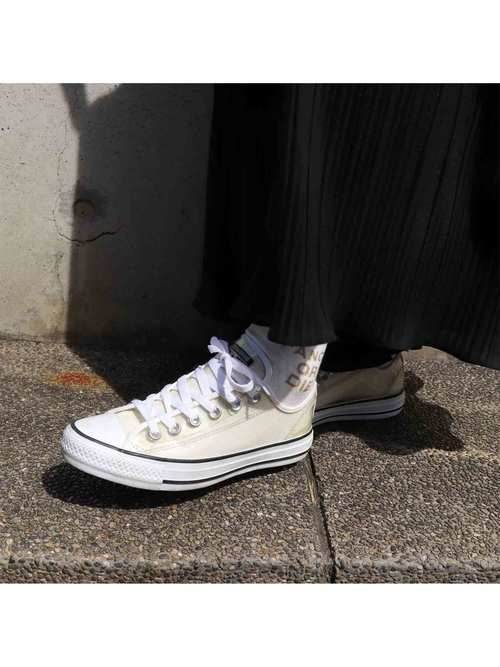 "00's~ CONVERSE ""CT CLEAR OX"" クリアスニーカー [Women's US 6.5]"