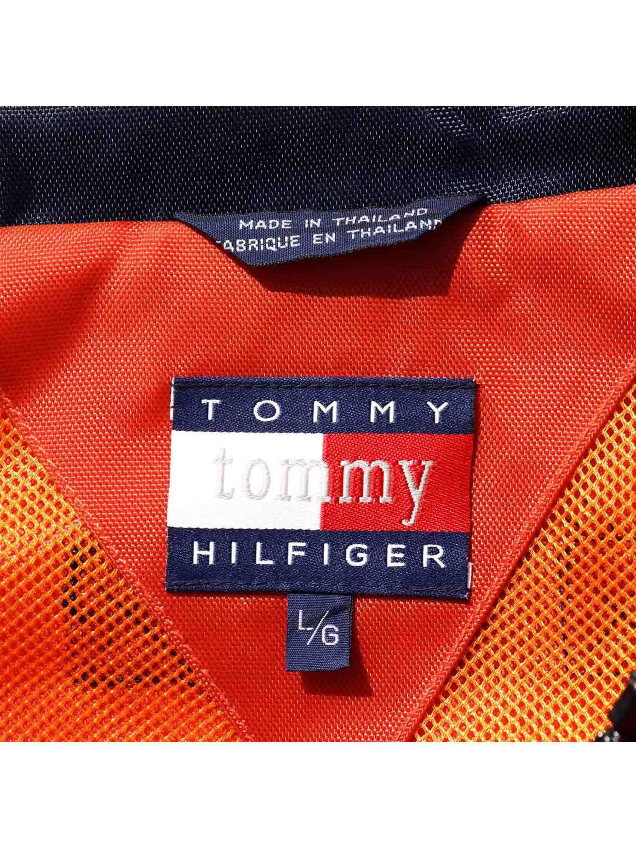 90's TOMMY HILFIGER ナイロンジャケット [L]