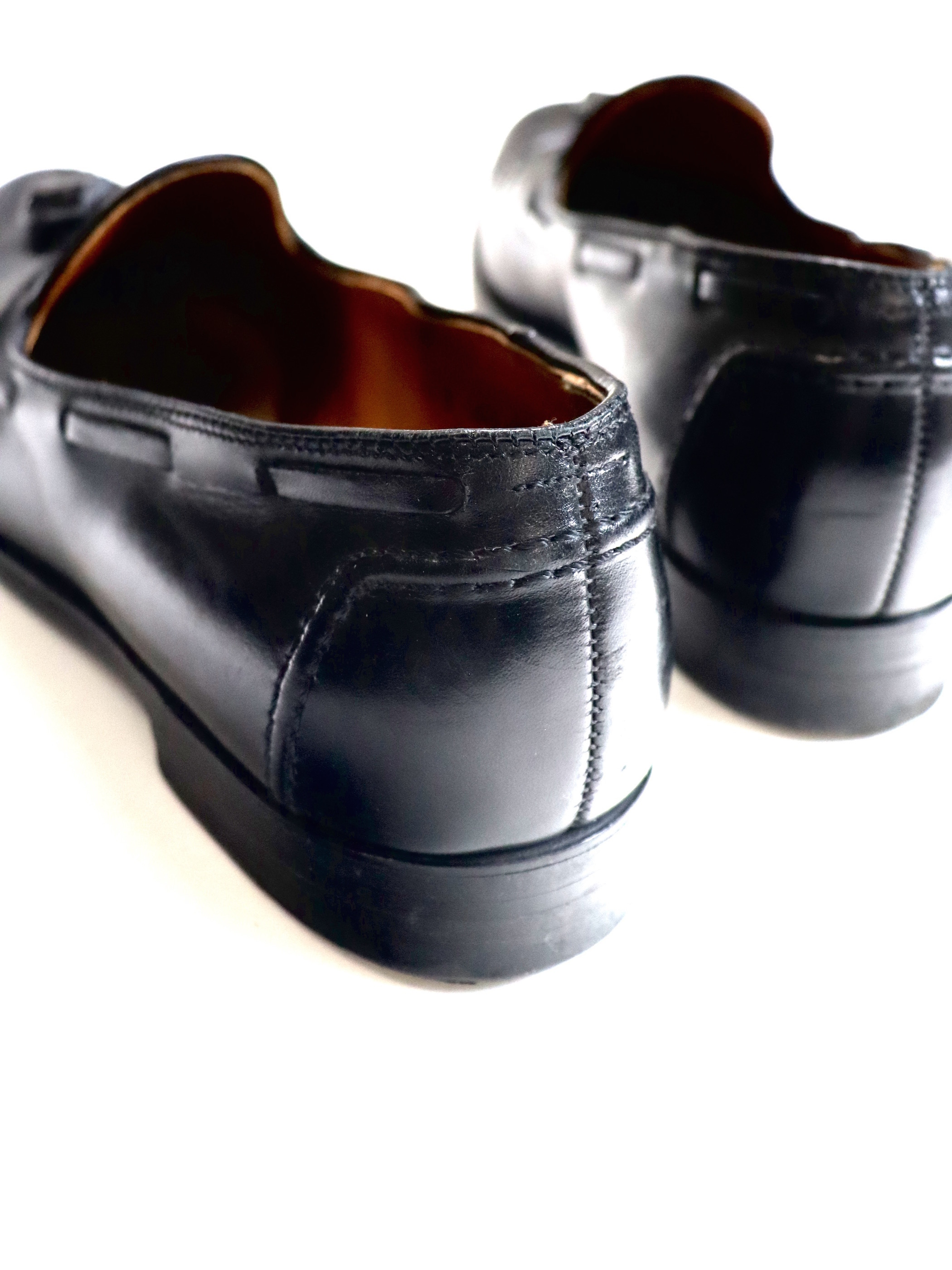 Brooks Brothers × ALDEN Leather Tassel Loafer