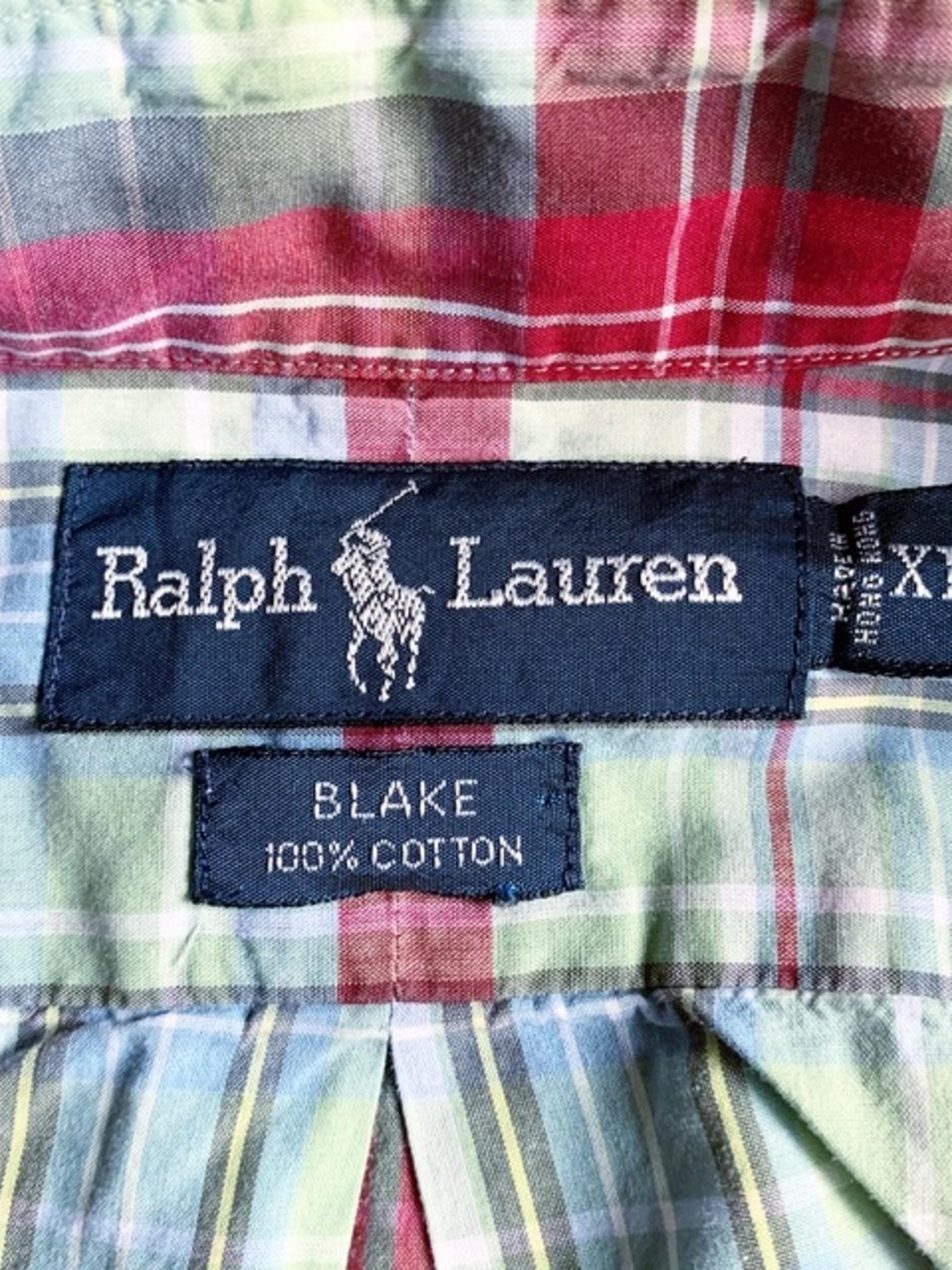 """Ralph Lauren """"BLAKE"""" BD shirt"""