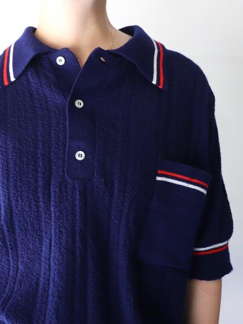 S/S Knit polo shirt
