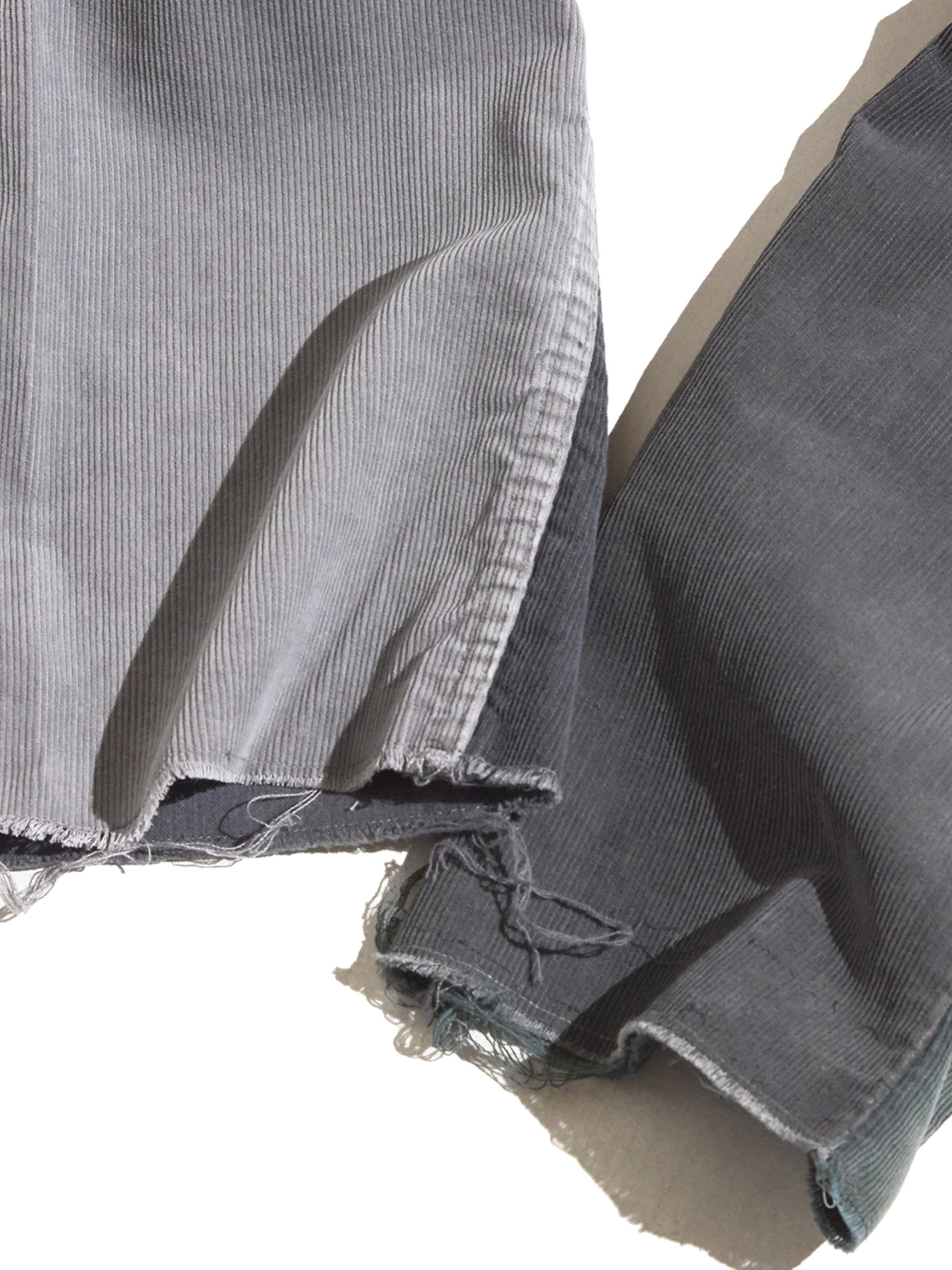 "1980s ""Levi's"" custom mede crazy pettern 519 corduroy pants #17"