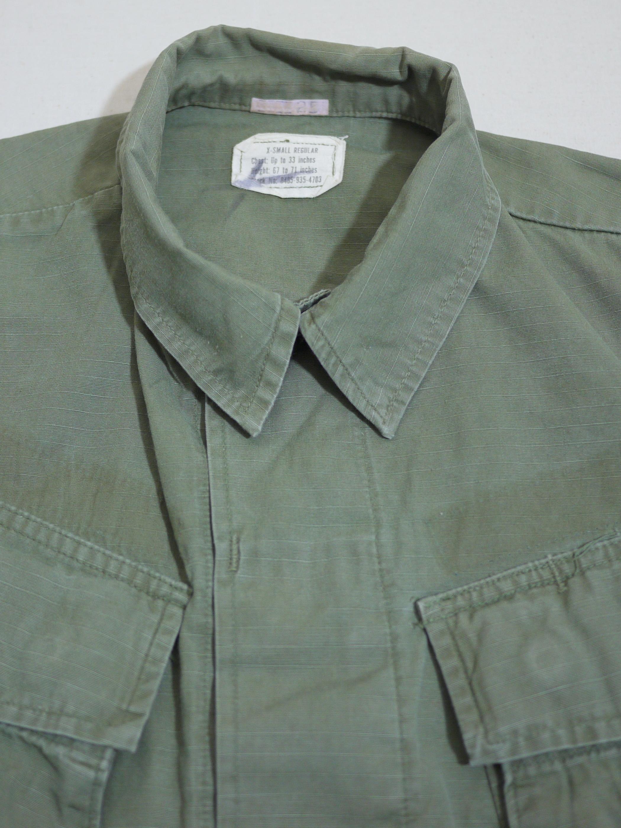 U.S.Military 1960's Fatigue Jacket SizeXS-R #4