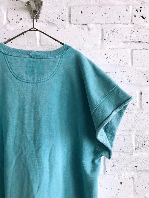 90's《Levi's》Over Size Cut-off Design Sweat shirt