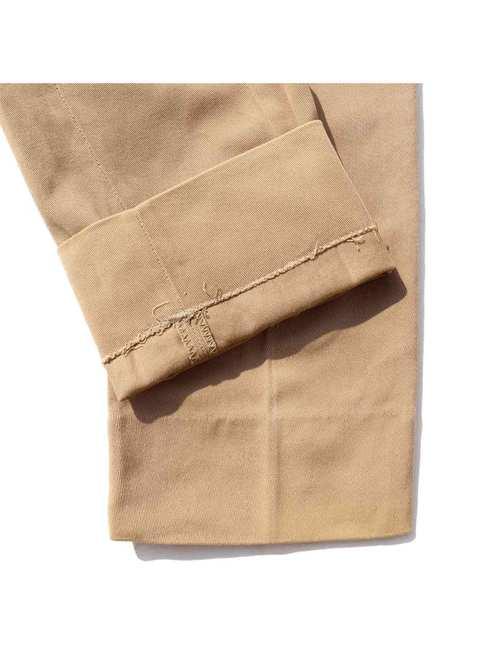 30's~ LEVI'S Longhorn Wool Gabardine Ranch Pants [About W28]