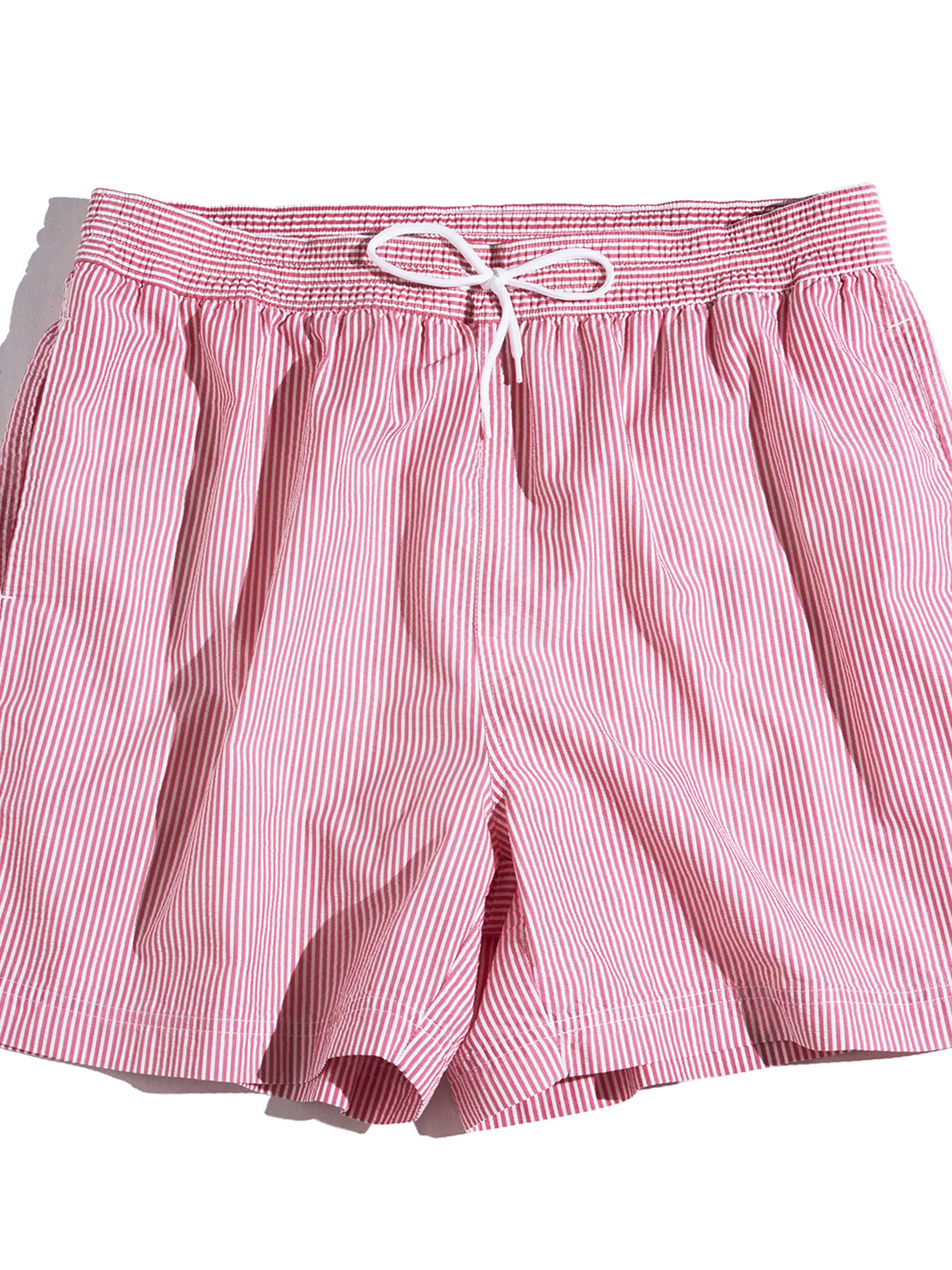 "1990s ""POLO by Ralph Lauren"" seersucker stripe shorts -PINK-"